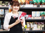 ≪広島駅地下≫人気Caféタリーズコーヒー♪ 幅広い年代のスタッフが活躍中!!