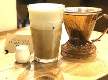 """""""enjoy eating""""をモットーに、 「ISUZU CAFE いすずカフェ」 を盛り上げてくださるメンバー募集中♪"""