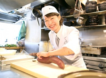 SNSで人気のお店が名古屋に初上陸!空いた時間に働ける!主婦(夫)歓迎♪キッチンで家事の経験も活かせる★