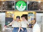 ◎オープンカフェ◎ セルフ方式のカフェなので仕事が覚えやすく、未経験でも活躍できる環境です♪