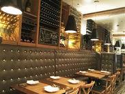 気軽にイタリアンが味わえるトラットリア、完全予約のリストランテ、開放的なバールの3つの空間がおりなす、新しいイタリアン♪