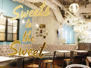 WIRED CAFEから誕生したスイーツに特化したカフェ★ 通勤らくらく!ルミネ1新宿内◎