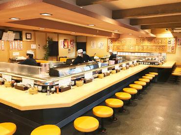 大曽根駅から徒歩9分ほど! 交通費も規定支給します◎ 社割も使えるので、お寿司好きさんにもウレシイお仕事!