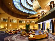 有名ホテルでのお仕事♪接客などはないので、モクモクと働きたい方にもオススメです!