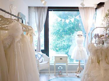 【縫製スタッフ】☆あなたの裁縫スキルで、美しい花嫁姿を演出♪☆花嫁様にぴったりなドレスをお直し・縫製♪*゜土曜ダケの週1も相談OKですよ★