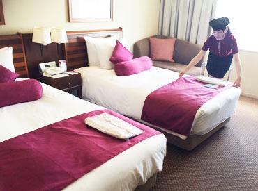 【ルームメイキング】「ANAクラウンプラザホテル岡山」で、清掃作業♪シフトは1週の自己申告&融通ほぼ100%考慮!!冷暖房完備で、夏も快適に勤務◎