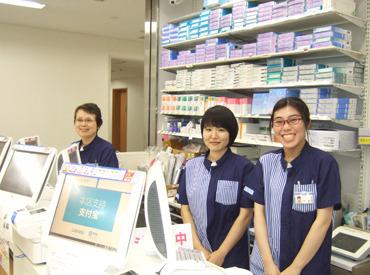 【ローソンStaff】☆週1日・4h~OK☆病院内のローソンでお仕事◎シフトの自由度が高いのでとっても働きやすい♪中高年・シニアも大歓迎!