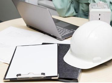 【施工管理】商業ビル・病院・学校などの公共施設や大型マンション、大規模の都市開発、大型商業施設の様々な建築構造物の施工管理業務!