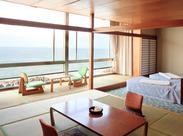 日本海が一望できる綺麗なホテル◎ ★土日のみ/平日だけの勤務OK!