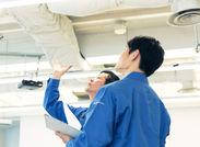 現場での設備施工管理のお仕事です!正社員登用制もあるので、長く働きたい方にピッタリ!