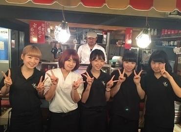 【ホール・キッチン】今話題の【肉寿司】でホール・キッチン大募集!自己申告制シフトでプライベート充実(*´з`) 髪型髪色自由&ピアスネイルOK★