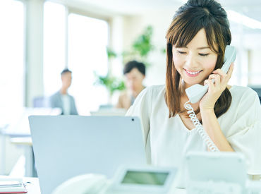 未経験の方はもちろん、コールセンター経験者はしかkりとスキルを活かして働ける環境ですよ◎ ※画像はイメージです