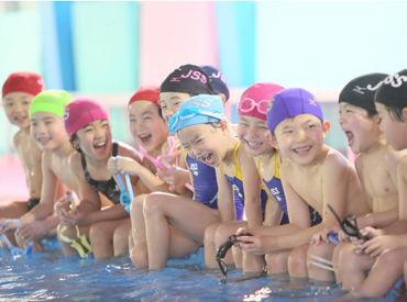 水泳が得意でない方から指導経験のある方までみんな歓迎! それぞれの強みを活かして、お仕事ができる環境です★