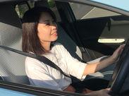 使用する車は軽自動車もしくは小型車になります♪ナビ付きの車もあるので、運転初心者の方も安心してくださいね◎