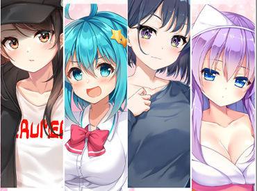 男性向け&女性向け恋愛ゲームを中心とした人気ゲームのデザイン◆* 「好き」と「スキル」が両方活かせる◎