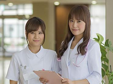 【看護師】\総合病院での看護師のお仕事!/「患者様と向き合える」「成長できる」…そんなお仕事始めませんか?