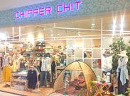 イオン都城ショッピングセンターの中にできる『CHIPPER CHIT』がオープニングStaffを募集♪未経験歓迎!