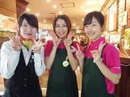 京都駅直結ビルでの勤務は、雨の日でもらくらく通勤できちゃうよ★The CUBE内だから、毎日いろんなお客様に出会えます♪