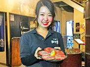 おいし~い焼肉屋さん♪ まかないで豚や鳥などお肉が無料で食べられる◎ (特別な日は牛も!!)