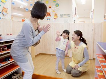 【保育Staff】★ 保育士資格を活かせる ★<週2/1日3h~OK>シフト自由◎ブランクある方、経験が浅い方も大歓迎!