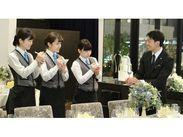 """ホテル椿山荘東京、リニューアルOPENした""""リビエラ東京""""など有名ホテルでスタッフデビュー♪非日常空間で働けるチャンス☆"""