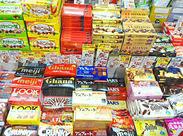 懐かしい駄菓子から、珍しいお菓子まで種類豊富です♪ 【3ヶ月以内短期勤務OK】もちろん長期勤務も大歓迎!!