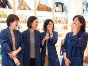 """""""滋賀""""の自然や人、食など魅力を発信していくお仕事!店内は白と木目の洗練されたキレイな造りです☆"""