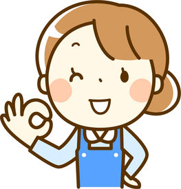 お子さんのお迎えまで、放課後から…など 時間が選べるので、都合にあわせて働けます!