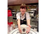 <未経験OK>カフェの雰囲気が好き、オシャレに働きたい…など、ぜひ、一緒に働きましょう!シフトなども考慮します◎