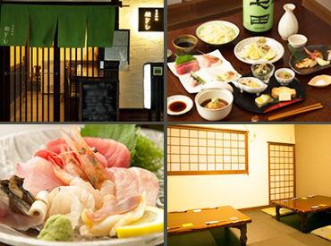 """―季節に応じて日本食を提供しています* """"頑張りは、まかないでお礼をしたい!"""" 気さくで頼りになるお父さんみたいな店長★"""
