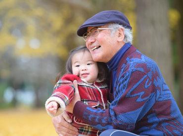 シニア世代の方中心に活躍中★ 稼いだお金でお孫さんにプレゼントを買って…なんて使い方も♪ ※画像はイメージ
