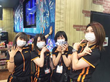 <和気あいあいとした雰囲気>感染予防対策もバッチリ◎ スタッフもマスクを着用してお仕事しています! ※マスクの支給可能