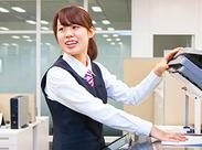 ★大手企業だから安心♪* お仕事しながら、パソコンのスキルアップしよう!先輩スタッフが丁寧にサポートします♪