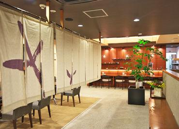 ≪2階の茶寮で接客のお仕事≫ スイーツ好きさんにもおすすめ♪ 笑顔でお客様をお出迎えしましょう*