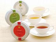 ≪注目!!≫休憩スペースにはいつも数種類のお茶をご用意♪世界中の美味しいお茶を楽しめます◎