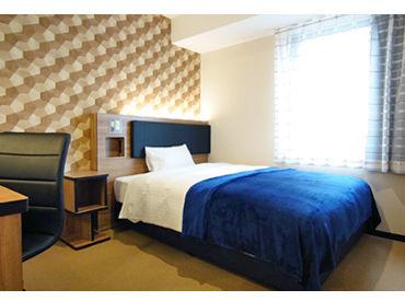 米子駅すぐの便利な立地! 昨年できたばかりの新しいホテル.+* ゴールデンウイークの短期勤務も大歓迎です!!