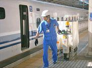 アクセス抜群のターミナル駅で働きませんか?国内外のお客様が利用される駅を、最新の機械使用してスムーズにお掃除♪