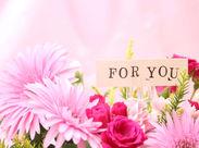 お花の知識がなくても、軽作業パートの経験がなくても大丈夫♪指示通り、お花屋さんごとに生花を仕分けするだけでOKです◎