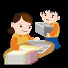 ★新聞の折込作業STAFF★ 子育てを終えて時間が余った 主婦(夫)さんが活躍中ですよ◎