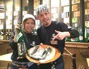 彼女はベテランさん★ココで長く働いているワケは、『お店の雰囲気もスタッフの人柄もすごくよくて、働きやすいから!』だそう♪