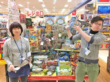 フリーターさん歓迎★おもちゃの従業員割引あり♪ おもちゃ、ファンシー雑貨、節句人形 TVゲームなどを取り扱ってます♪