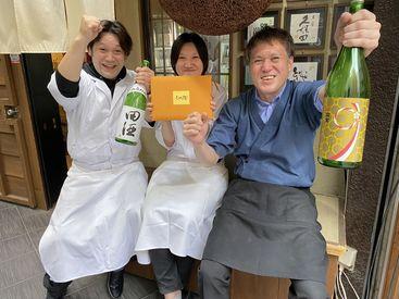 アルバイトが初めての方も大歓迎!! 経験なんて関係ナシ☆まずは簡単なことからでOK♪スタッフ全員でサポートします!