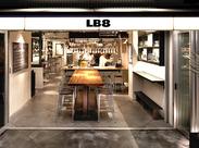 代官山駅徒歩5分のひときわおしゃれなお店『LB8』♪ 海外のお客さまも多いんです☆