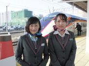 山形~東京間を結ぶ「山形新幹線 つばさ号」の車内でのお仕事です♪ちょっとした旅気分で楽しくお仕事できますよ◎