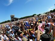 思い出作ろう☆★☆他にもサッカーのJリーグ、スタジアムライブ、アイドルのコンサートなど…超人気イベントがい~っぱい!