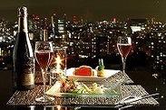 高層階レストラン♪ 綺麗な夜景に包まれる、最高にロマンチックなお店です!