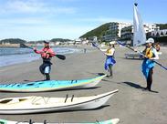 \海大好きな方注目!!/一緒に働くインストラクターや生徒さんもみんな海やマリンスポーツ好き♪