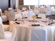 ホテル内のパーティー料理でのお仕事!調理経験が活かせる&学べます!正社員登用や契約社員登用も積極的に実施中です!