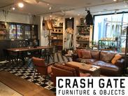 セットでも単体でも、オシャレにきまる家具・インテリアが勢ぞろい♪* 働きながら商品や空間への知識が深まります!