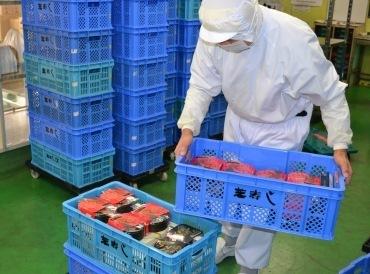 芝寿しのお弁当を各販売店へ出荷するサポートをお願いします!! 決められた種類・個数を集荷して、配送部門へ運搬します★